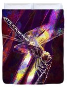 Dragonfly Insect Close  Duvet Cover