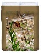 Dragonfly Resting Duvet Cover