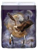 Dream Catcher - Spirit Eagle 2 Duvet Cover