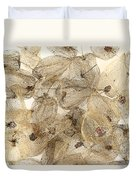 Dried Fruits Of The Cape Gooseberry Duvet Cover