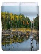 Drowned Trees Duvet Cover