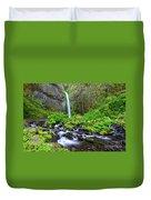 Dry Creek Falls Duvet Cover