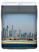 Dubai Skyline Duvet Cover