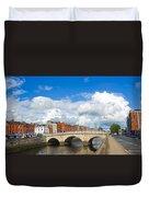 Dublin's Fairytales Around  River Liffey 2 Duvet Cover