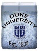 Duke University Est 1838 Duvet Cover