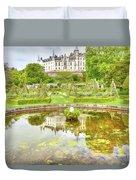 Dunrobin Castle Reflected Duvet Cover