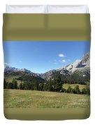Durrenstein, Dolomites, Italy Duvet Cover