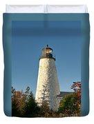 Dyce Head Lighthouse Duvet Cover