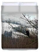 Eagle Watching Duvet Cover