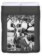East Africa: Kudu Duvet Cover