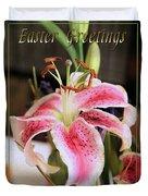 Easter Greetings Duvet Cover