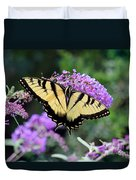 Eastern Tiger Swallowtail Butterfly 2015 Duvet Cover
