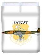 Ec-121r Batcat 6721498 Duvet Cover