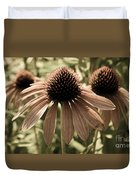 Echinacea Garden Duvet Cover