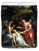 Ecstasy Of Mary Magdalene Duvet Cover