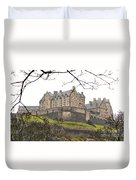 Edinburgh Castle Duvet Cover