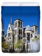 Eglise Notre - Dame En Vaux Duvet Cover