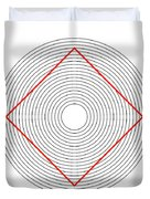 Ehrenstein Illusion Duvet Cover