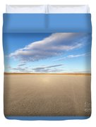 El Mirage Dry Lake Mojave  Duvet Cover