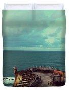 El Morro San Juan Puerto Rico Duvet Cover