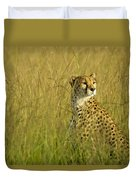 Elegant Cheetah Duvet Cover