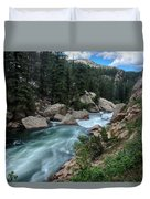 Eleven Mile Canyon Duvet Cover