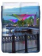 Elgin Festival Park Duvet Cover