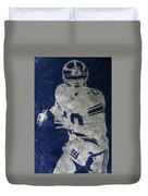 Eli Manning Giants Duvet Cover