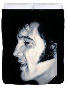 Elvis Presley  The King Duvet Cover