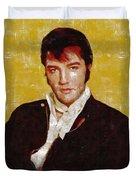 Elvis Presley Y Mb Duvet Cover