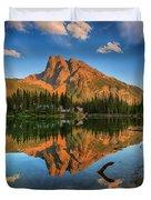 Emerald Lake - Yoho National Park Duvet Cover