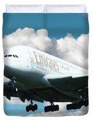 Emirates A380 Duvet Cover
