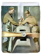 Mechanical Training - Enlist In The Air Service Duvet Cover