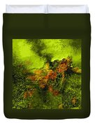 eruption II Duvet Cover