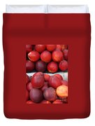 European Markets - Nectarines Duvet Cover