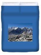 Everest Prayer Flags Duvet Cover