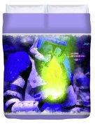 Execute Order 66 Blue Team Commander - Cartoonized Style Duvet Cover