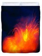 Exploding Lava Duvet Cover by Greg Vaughn - Printscapes