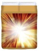 Explosive Background  Duvet Cover
