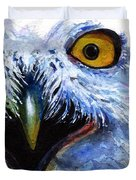 Eyes Of Owls No. 15 Duvet Cover