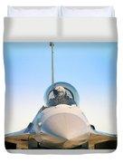 F-16 Fighting Falcon Duvet Cover