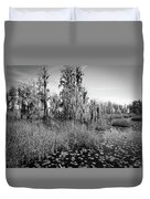 Faces Of The Swamp, No. 7 Duvet Cover