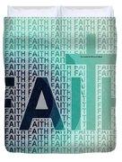 Faith - The Lord God Of Israel Duvet Cover