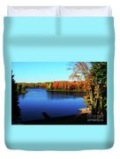 Fall In Northern Wisconsin Duvet Cover