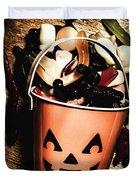 Fall Of Halloween Duvet Cover
