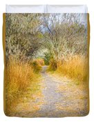 Fall Pathway 3 Duvet Cover