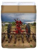 Farmall Tractor Duvet Cover