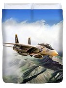 Fear The Bones F-14 Duvet Cover