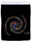 Feel Happy-colorful Digital Art That Can Enhance Your Mood Duvet Cover
