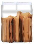 Liquid Nude Duvet Cover